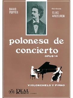 David Popper: Polonesa De Concierto Op.14 Para Violoncello Y Piano Libro | Cello, Piano