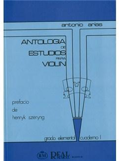 Antología de Estudios para Violín Volumen 1, Grado Elemental Libro | Violin