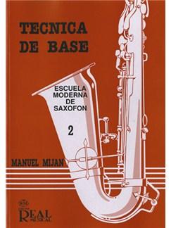 Técnica de Base, Volumen 2 Libro | Saxophone