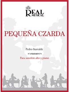 Pedro Iturralde: Pequeña Czarda, para Saxofón Alto y Piano Libro | Piano, Saxophone