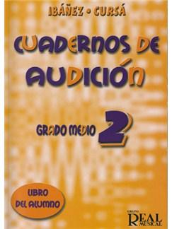 Cuadernos De Audición, Grado Medio 2 (Libro Del Alumno) Libro | Todos Instrumentos