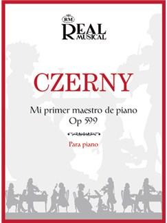 Carl Czerny: Mi Primer Maestro de Piano, Op.599 Libro | Piano