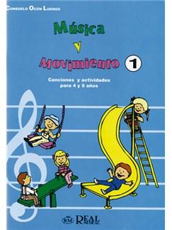 Música Y Movimiento, 1: Canciones Infantiles (Para 4 Y 5 Años) Libro | Todos Instrumentos