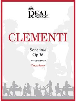Muzio Clementi: Sonatinas Op.36 para Piano Books | Piano