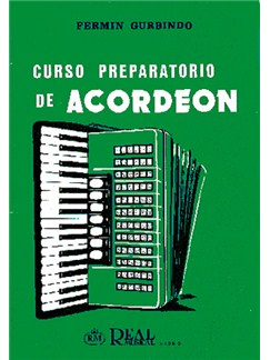 Fermín Gurbindo: Curso Preparatorio de Acordeón Libro | Accordion