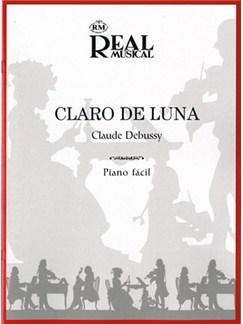 Claude Debussy: Claro de Luna (Piano fácil) Libro | Piano
