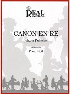 Johann Pachelbel: Canon En Re Libro | Piano