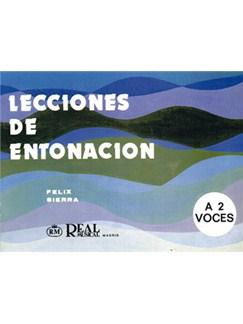 Lecciones de Entonación a 2 Voces Libro | Piano & Vocal