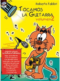 Tocamos la Guitarra, Volumen 2 CD y Libro | Guitar