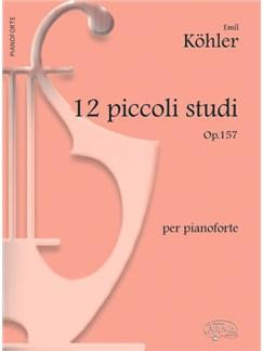 Kohler 12 Piccoli Studi Op157 Pf Bk Books |