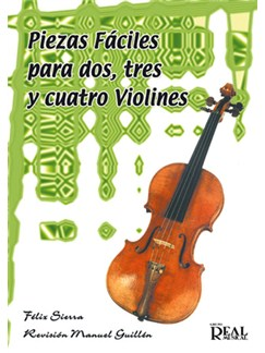 Piezas Fáciles para 2, 3 y 4 Violines Libro | Violin