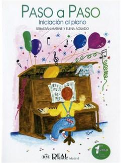 Paso a Paso, Iniciación al Piano, 1° Curso, Clase Colectiva Libro | Piano