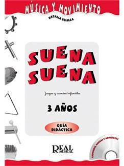 Suena Suena, Juegos y Cuentos Infantiles, para 3 Años (Guía Didáctica del Profesor) CD y Libro | All Instruments
