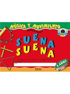 Suena Suena, Juegos Y Cuentos Infantiles, Para 3 Años (Libro De Fichas Del Alumno Y Libro De Cuentos) Books and CDs | All Instruments