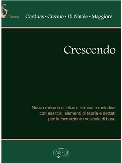 Corduas/Cusano/Di Natale/Maggiore: Crescendo Books | All Instruments