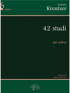 Rodolphe Kreutzer: 42 Studi, per Violino Books   Violin