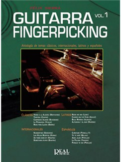 Guitar Fingerpicking, Vol.1 Books and CDs | Guitar
