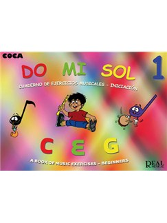 Do Mi Sol, Vol.1 Cuaderno De Ejercicios Musicales - Iniciación Books | All Instruments