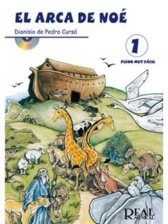 El Arca De Noé, Vol.1 + CD (Piano Muy fácil) CD y Libro | Piano