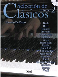 Seleccion de Clasicos, Volumen 2 CD y Libro | Piano