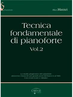 Tecnica Fondamentale di Pianoforte, Volume 2 Books | Piano