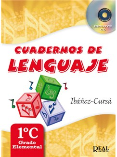 Cuadernos De Lenguaje 1C, (Grado Elemental - Nueva Edición) CD y Libro | Todos Instrumentos