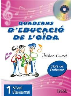 Quaderns D'Educació De l'Oïda, Vol.1 - Nivell Elemental (Llibre Del Professor) Books and CDs | All Instruments