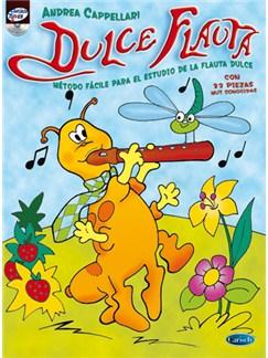 Dulce Flauta, Método Fácil Para El Estudio De La Flauta Dulce CD y Libro | Flauta dulce