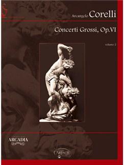 Arcangelo Corelli: Concerti Grossi, Op.VI, Volume 2 Books and CD-Roms / DVD-Roms | Chamber Group