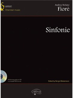 Andrea Stefano Fiorè: Sinfonie Books and CD-Roms / DVD-Roms | Chamber Group