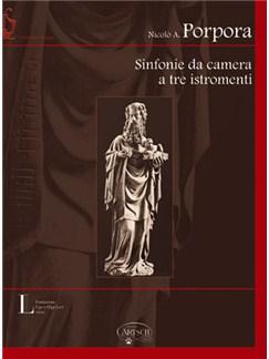 Nicolò Antonio Giacinto Porpora: Sinfonie da Camera a Tre Istromenti Books and CD-Roms / DVD-Roms | Flute