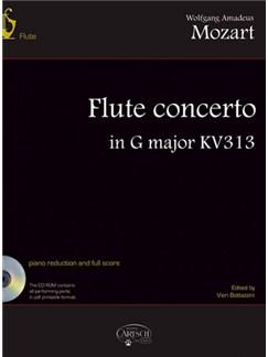 Wolfgang Amadeus Mozart: Flute Concerto in G Major KV 313 Books and CD-Roms / DVD-Roms | Flute, Orchestra