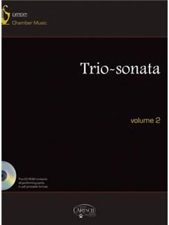 Triosonata, Volume 2 CD y Libro | Música de Cámara