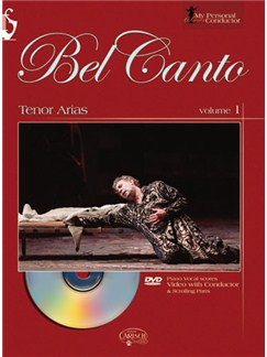My Personal Conductor Series - Tenor Arias, Volume 1 DVDs / Videos y Libro | Voz