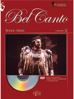 My Personal Conductor Series - Tenor Arias, Volume 2 Books and DVDs / Videos | Voice