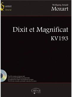 Wolfgang Amadeus Mozart: Dixit et Magnificat KV193 CD y Libro | Coral
