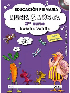 Music & Música, Volumen 2 (Alumno) Books and DVDs / Videos | All Instruments