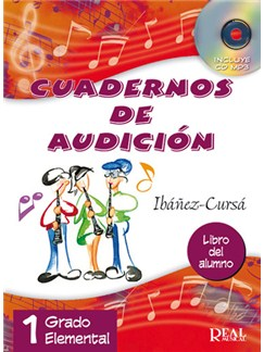Cuadernos De Audición, 1 Grado Elemental (Libro Del Alumno) Books and CDs |