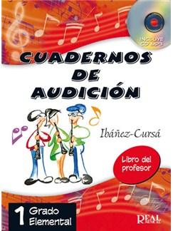 Cuadernos De Audición, 1 Grado Elemental (Libro Del Profesor) CD y Libro | Todos Instrumentos