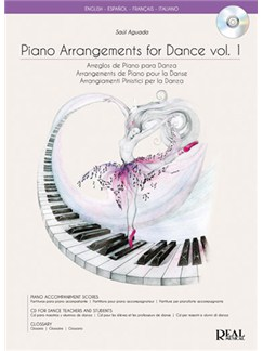 Piano Arrangements for Dance Vol.1, Arreglo de Piano para Danza CD et Livre | Piano