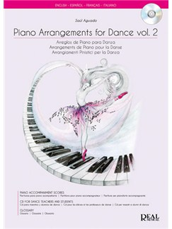 Piano Arrangements for Dance Vol.2, Arreglo de Piano para Danza Books and CDs | Piano