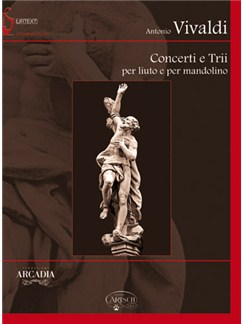Antonio Vivaldi: Concerti e Trii per Liuto e Mandolino Books and CD-Roms / DVD-Roms | Chamber Group