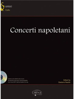 Concerti Napoletani Books and CDs | Cello