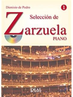 Selección De Zarzuela, Volumen 1 CD y Libro | Piano y Voz