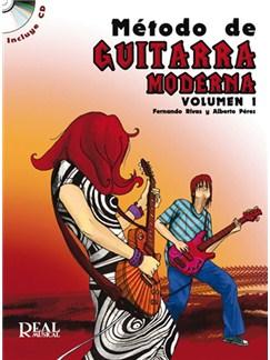 Método de Guitarra Moderna, Volumen 1 CD y Libro | Guitar