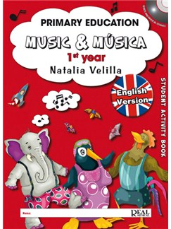 Music & Música Volumen 1 (Student Activity Book) Books and DVDs / Videos | All Instruments