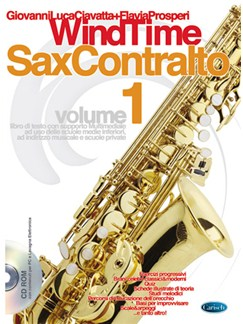 Windtime, Sax Contralto, Volume 1 Books and CDs | Saxophone