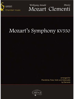 Muzio Clementi - Wolfgang Amadeus Mozart: Sinfonia KV550 Arranged By Clementi Books | Chamber Group