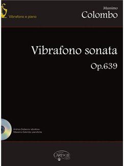 Massimo Colombo: Vibrafono Sonata Bog og CD | Vibrafon