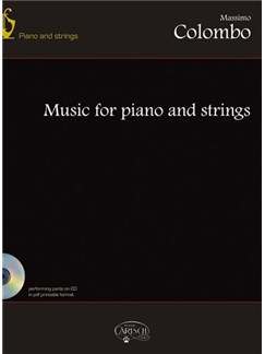 Massimo Colombo: Music for Piano & String+CD Books | Chamber Group